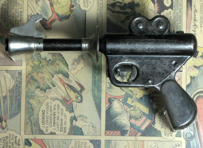 Doc Atomic, first toy ray gun produced Buck Rogers XZ-31 ...