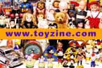 Toyzine, Collectors Edition Toyzine Postcard, toy and collectibles